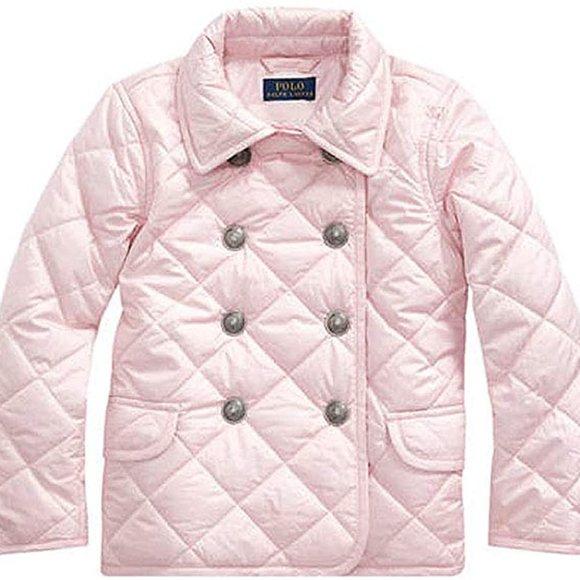 Girls pink Ralph Lauren Puffer Jacket